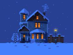 Winter House by Nutsa Avaliani