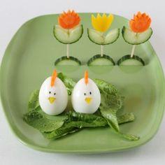 easter-salad-decorations-egg-chicks-vegetable-tulips1