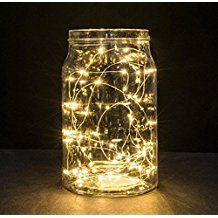 1m Guirlande lumineuse 10LED à piles lumières de Noël Cakaco fête mariage lampe