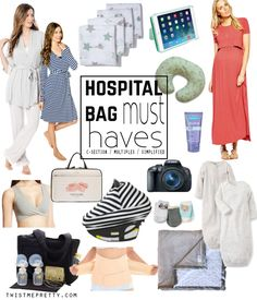 Things to pack for your hospital bag and awesome baby gear!