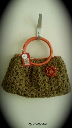 25% Off  Crochet Tote Bag  Made of Twine with by myprettybabi, $78.00