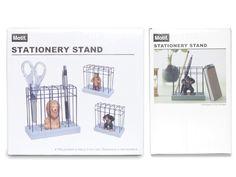 【楽天市場】【Motif/モチーフ】Stationary Stand /ステーショナリースタンド【ペン立て/ペンスタンド/動物/アニマル 文具】【海外 輸入】【おしゃれな輸入デザイン文房具ならイーオフィス】:イーオフィス