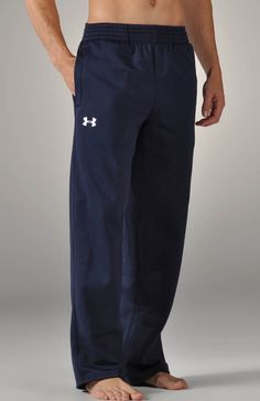 Under Armour Armour Fleece Open Bottom Team Pant 1229503 - Under Armour Sports & Activewear