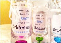 Fun DIY Way To Ask Your Bridesmaids