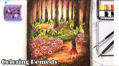 Coloring Remedy with me 😃 Vivi soker en van by Maria Trolle