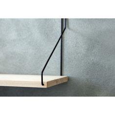 Frama Shelf Wandplank Staal Zwart - 80 cm - afbeelding 2