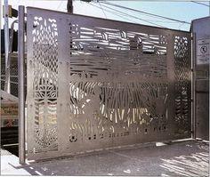 On the hunt for custom decorative metal panels.