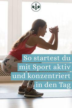 Wenn du morgens müde, launisch und alles andere als fit bist, brauchst du dringend eine Veränderung. Sport als Morgenroutine ist der perfekte Start in den Tag, um wach, konzentriert und voller Energie zu sein. Routine, Aktiv, Fit, Sports, Movies, Movie Posters, Bedroom, Tips, Hs Sports