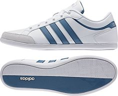 adidas Herren Unwind Turnschuhe, Blanco / Azul / Plateado (Ftwbla / Azucen / Plamat), 42 EU - http://on-line-kaufen.de/adidas/42-adidas-herren-unwind-turnschuhe