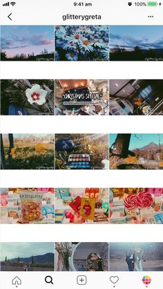 9 Types of Instagram Grid Layouts (planner + tips) Photo Pour Instagram, Cool Instagram, Instagram Grid, Instagram Design, Instagram Feed Theme Layout, Planner Apps, Bright Color Schemes, Grid Layouts, Travel Scrapbook
