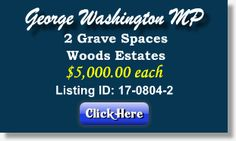 Featured Cemetery Listing - George Washington Memorial Park - Plymouth Meeting, PA - 17-0804-2