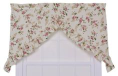 Ellis Curtain Kitchen Collection Willow Floral 56 by 35-Inch Ruffled Swag Curtains, Rose by Ellis Curtain. $11.69. Each swag is constructed with a standard 1-1/2-Inch rod pocket, 2-1/2-Inch header and ruffled border. 70% Polyester/ 30% Cotton. Made from 70-percent polyester/30-percent cotton creates a sturdy curtain that is extremely durable and will hold its color and shape even after repeated washings. Inexpensive way to transform the atmosphere, mood and theme that you are l... Swag Curtains, Kitchen Measurements, Kitchen Window Treatments, Kitchen Collection, Kitchen Curtains, Rod Pocket, Home Kitchens, Shape, Floral