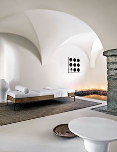 Indoor pool and arches design