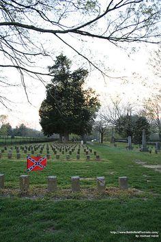 Confederate Cemetery at Carnton Plantation