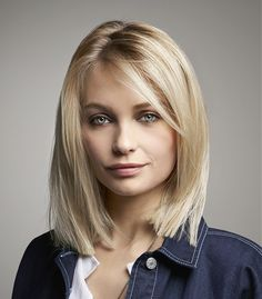 VOG Medium Blonde Hairstyles