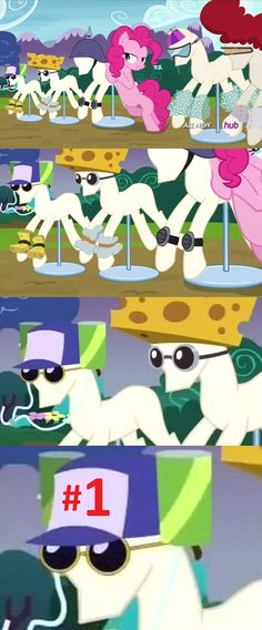 """MLP/Spongebob HE WAS NUMBER 1!!!!!  """"it was his hat mr krabs, he was number one!"""""""