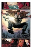 THE BIONIC MAN ANNUAL #1 Colors by alexguim
