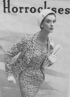 Horrockses Printed Dress and Jacket