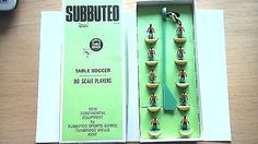 Vintage subbuteo #football #team. brazil 1970 #world cup #team. yellow & green bas,  View more on the LINK: http://www.zeppy.io/product/gb/2/222393548950/
