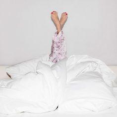 feet up, head down: #SweetDreams
