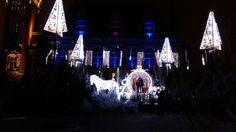 Noël 2015 - Décor féérique devant l'hôtel de ville