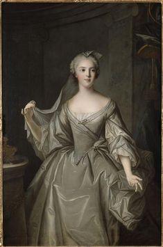 Jean-Marc Nattier, Portrait of Madame Sophie de France as a vestal virgin, 1748, Oil on canvas, 142 x 99 cm (Versailles)