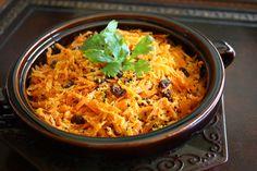 Cenoura com sementes de mostarda preta e coco