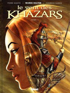 """The Wind of the Khazars"" books cover art illustration. Artist: Pierre Makyo"