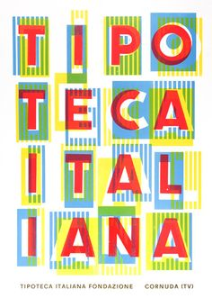 Typography poster / Tipoteca new