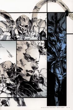 Yoji Shinkawa: Metal Gear Solid 2 Sons of Liberty ~ Synteza historii i sztuki......!!!!