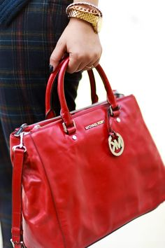 #michaelkors #red #bag