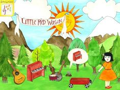 FREE app March 22nd (reg 2.99) Read music, play in the forest, and sing along as the stunning hand-painted illustrations come to life in Little Red Wagon!