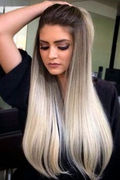 Blonde and Brown Hair Trends for Spring 2018 ★ See more: http://lovehairstyles.com/blonde-and-brown-hair/