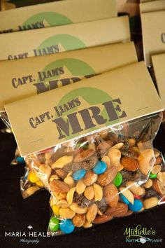 Army Party Favors Army military call of duty Party ideas party food and decorations Military Retirement Parties, Military Party, Military Send Off Party Ideas, Retirement Cakes, Retirement Ideas, Army Birthday Parties, Army's Birthday, Birthday Ideas, Camouflage Party