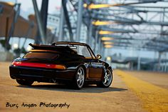 1/18 UT Porsche 911 Carbriolet at dusk.