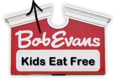 Start By Spending Some Family Time Around The Table at Bob Evans! There's no better way to start the year than to spend quality time around the table with family! Join Bob Evans every Tuesday night for Family Night! Kids eat FREE with the purchase of an adult entree.
