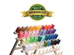 Amazon.com: 40 Spools Polyester Embroidery Machine Thread Bright and Beautiful Colors for Brother Babylock Janome Singer Pfaff Husqvarna Bernina Machines: Arts, Crafts & Sewing