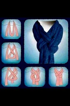 Awesome Way To Wear A Scarf!