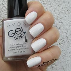 avon gel finish iceburg | iceberg-white-gel-finish-600x600. youravon.com/kdoylelackey