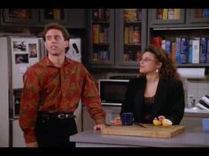 """Jerry, Elaine, and Kramer debate the merits of the obligatory """"baby seeing."""""""