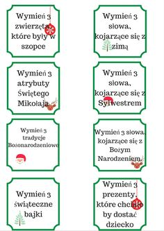 Preschool Christmas, Christmas Crafts, Winter Christmas, Christmas Time, Polish Words, Polish Language, Big Words, Kids And Parenting, Kids Learning
