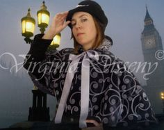 victorian cloak, for historical reenactment, theater and steampunk events