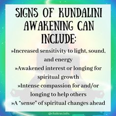 Signs Of A Kundalini Awakening. Read more with the article attached. Psychic Development, Spiritual Development, Spiritual Guidance, Spiritual Growth, Spiritual Quotes, Awakening Quotes, Spiritual Awakening, Empath Abilities, Kundalini Meditation