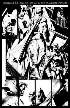 Batman and Superman by Jim Lee