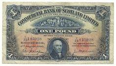 Scottish Pound 1940