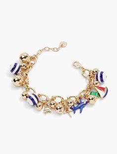 Deep Sea Charm Bracelet - Talbots