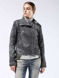 Diesel L CLELIA Leather Jackets: explore this product & the exclusive collection. Shop now on the official store!