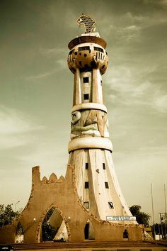 Tower in Mali, West Africa