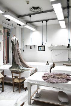 Valentino's atelier