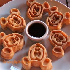 Don't forget to request Mickey waffles during your breakfast at Akershus!